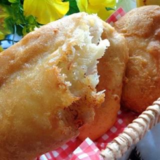Bánh chuối chiên phồng