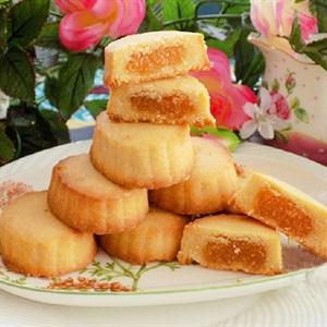 Bánh dứa Đài Loan kiểu tròn