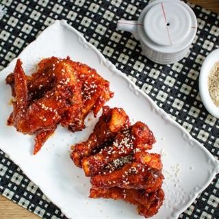 Cánh gà chiên Hàn Quốc
