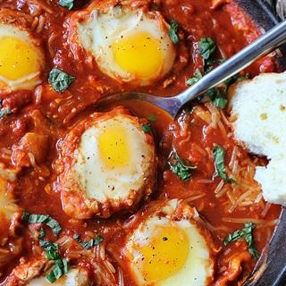 Mì ủ trứng