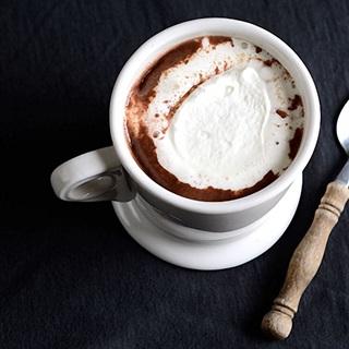 Chocolate nóng mùa đông