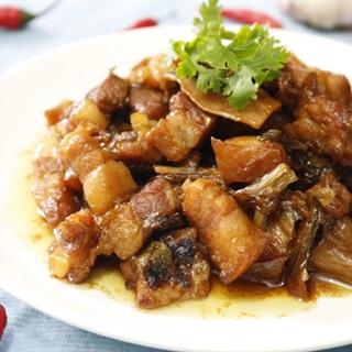 Thịt kho dưa kiểu Đài Loan