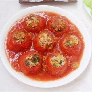 Cách làm cà chua nhồi thịt hấp dẫn