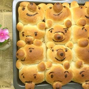 Bánh mì hình gấu