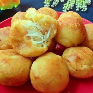 Cách làm bánh khoai lang dẻo nhân dừa