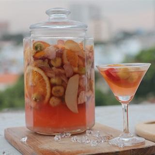 Cách làm rượu trái cây thơm ngon dễ uống dễ làm tại nhà
