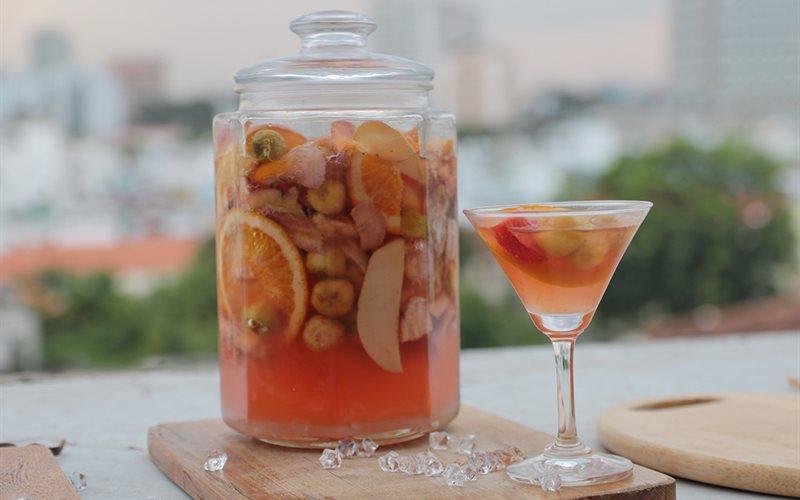 Cách Làm Rượu Trái Cây Giải Nhiệt, Cực Thơm Ngon