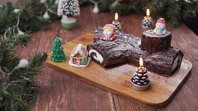 Bánh khúc cây Noel