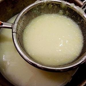 Sữa bắp nếp tại nhà