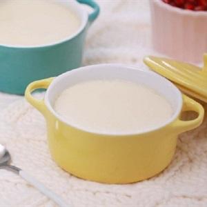 Sữa đậu trứng hấp
