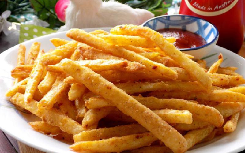 Kết quả hình ảnh cho khoai tây chiên