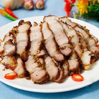 Cách làm thịt ba chỉ nướng sả ớt cay thơm