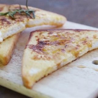 Cách làm bánh mì chiên trứng sữa