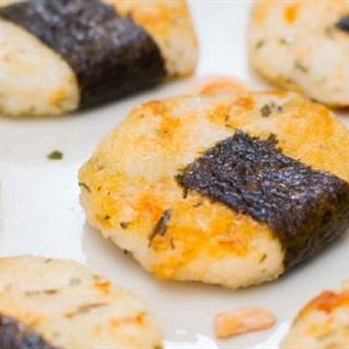 Bánh Senbei cá hồi