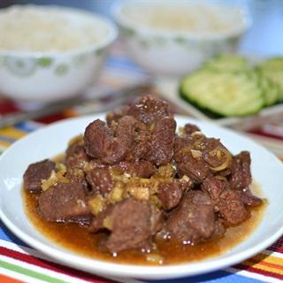 Cách Làm Thịt Bò Kho Sả Ớt Thơm Lừng
