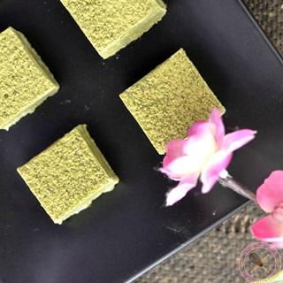 Cách làm nama chocolate vị trà xanh ngọt thơm