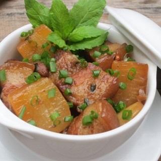 Cách làm Thịt Kho Củ Cải thơm ngon ấm bụng cho ngày lạnh