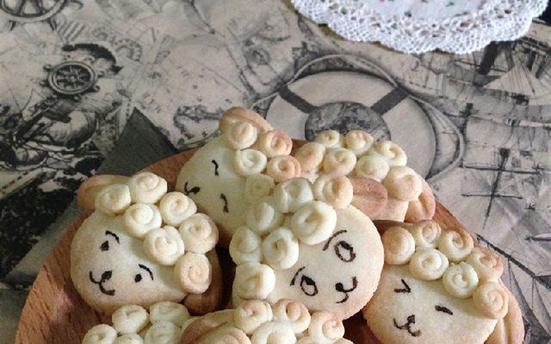 Cách làm bánh quy hình chú cừu