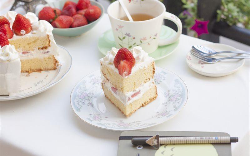 Cách làm Japanese strawberry shortcake thơm ngon, xinh xắn