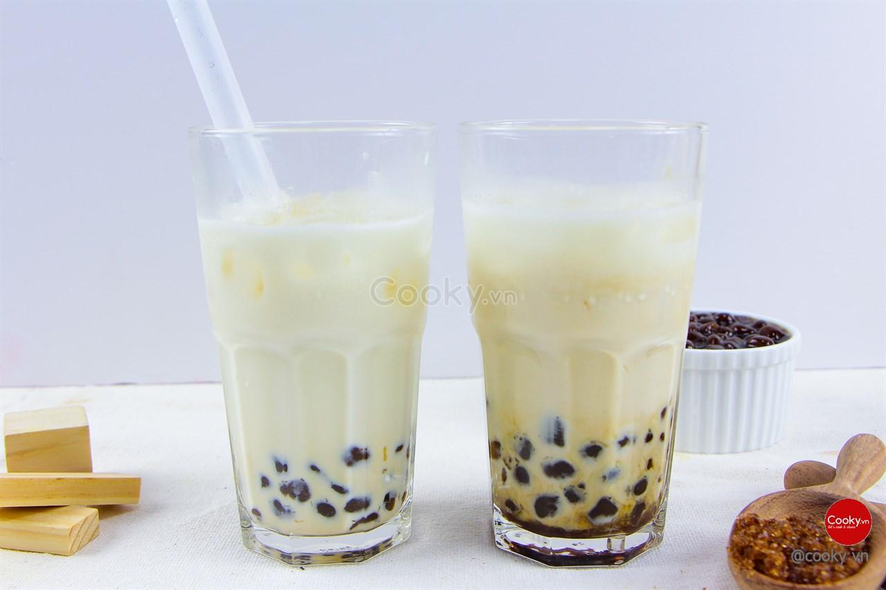 Cách Làm Trà Sữa Trân Châu Đường Đen Ngon Đúng Chuẩn - ảnh 2.