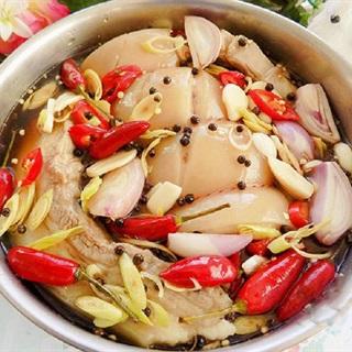Cách làm thịt heo ngâm mắm chua ngọt