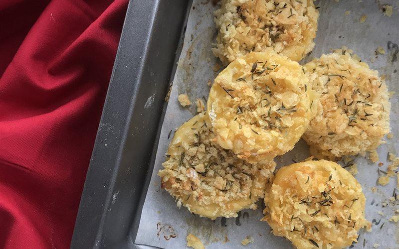 Cách làm Bánh hành tây phô mai