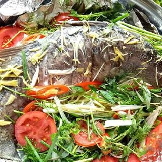 Cách làm cá hấp muối thơm ngon
