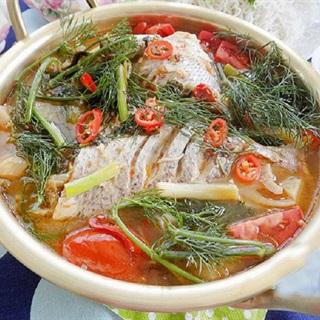 Cách làm cá om dưa cải chua