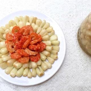 Cách làm dưa kiệu chua ngọt