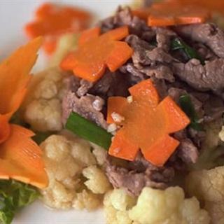 Cách làm bông cải xào bò