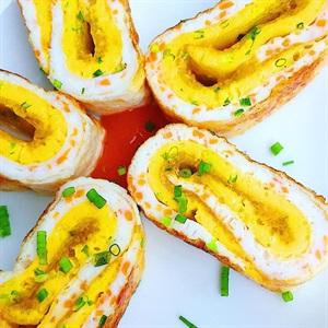 Trứng cuộn đơn giản