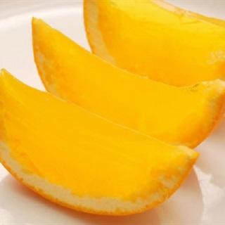 Cách làm rau câu rượu hình trái cam