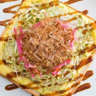 Bánh mì nướng Okonomiyaki