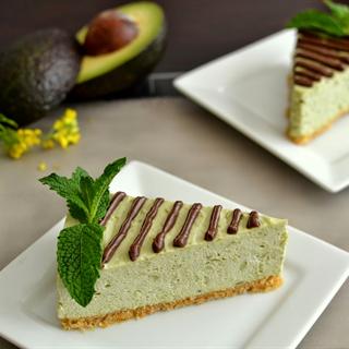 Cheesecake vị quả bơ ngon tuyệt không cần lò nướng.