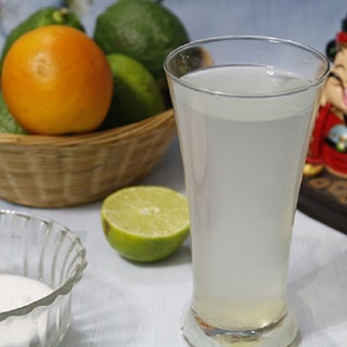 Nước chanh muối giải rượu