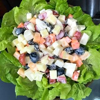 Cách làm salad hoa quả tươi thanh mát