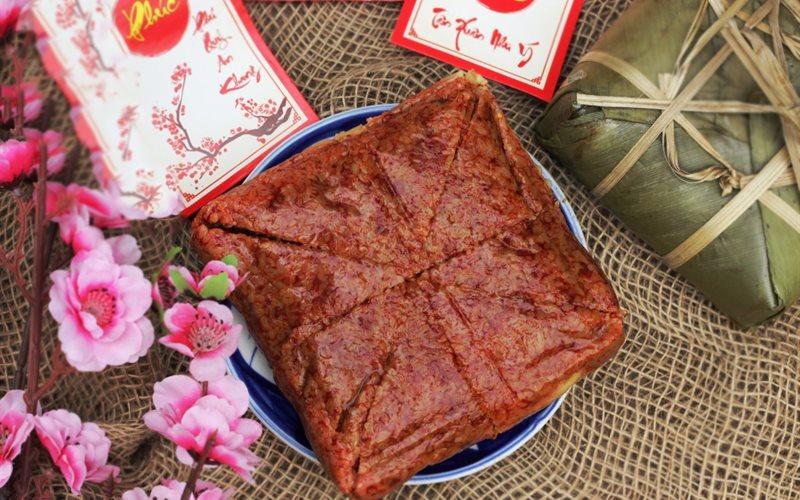Cách Làm Bánh Chưng Gấc | Đẹp Mắt, May Mắn Cả Năm