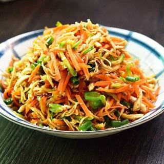 Salad gà trộn đơn giản