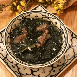 Cách nấu canh rong biển thịt bò