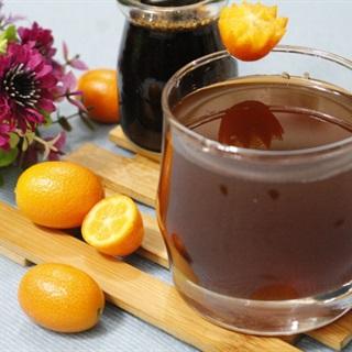 Cách làm trà kim quất mật ong