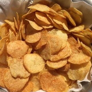 Cách làm snack khoai tây lát chiên