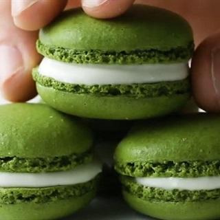 Cách làm Macaron Matcha