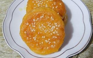 Bánh rán khoai lang dân dã