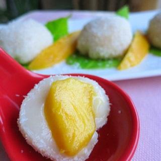 Bánh mochi xoài Nhật Bản