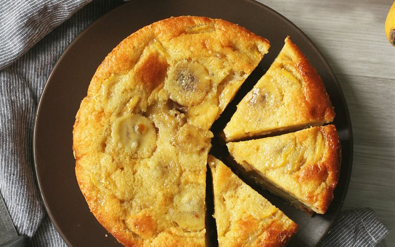 Cách Làm Bánh Chuối Nướng   Mềm, Thơm, Đơn Giản