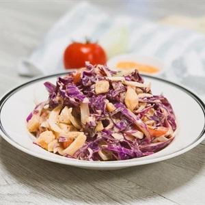 Salad ức gà bắp cải tím