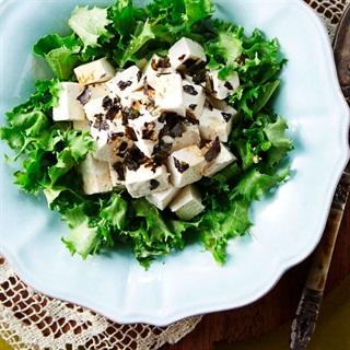 Cách làm salad đậu hũ rong biển
