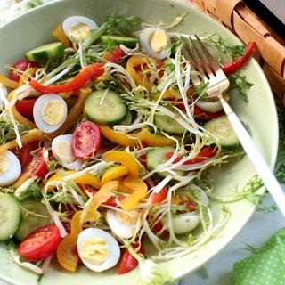 Cách làm salad tổng hợp