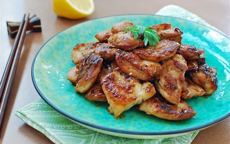 Cách làm thịt gà áp chảo