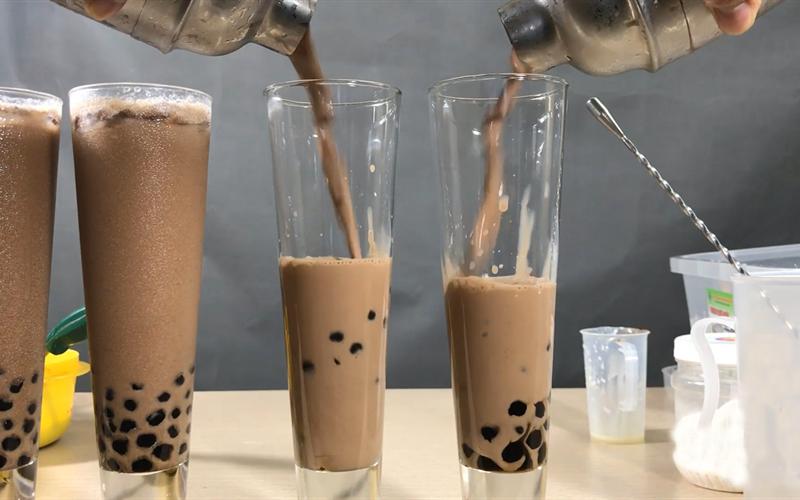 Cách làm trà sữa trân châu chocolate